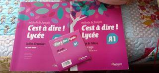 libros frances EOI, escuela oficial de idiomas, A1