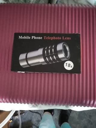 lente telescopio movil