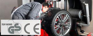 equilibradora ruedas coches taller 220v monofasica