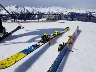 Esquís rossignol freestyle