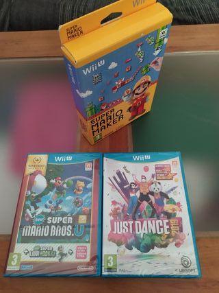 juegos Nintendo Wii u precintados