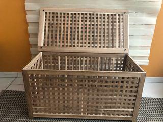 Boîte en bois IKEA
