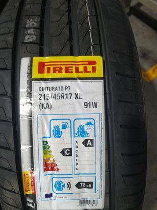 215/45/17 91W. Pirelli
