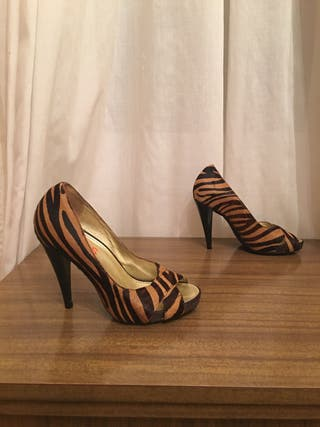 MICHAEL KORS - zapatos peeptoes mujer