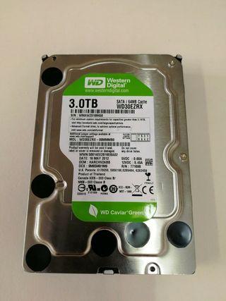"""Disco Duro Western Digital WD30EZRX 3TB SATA 3.5"""""""