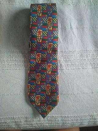 corbata de seda Richel
