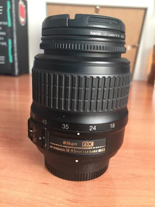 Objetivo Nikon 18-55 Dx