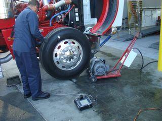 equilibradora ruedas camion con elevador incl 220v