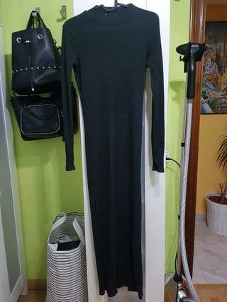 Vestido largo Zara S