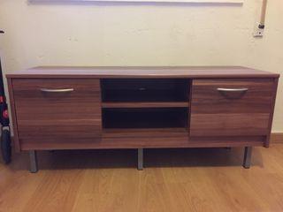 Mueble tv color wengue