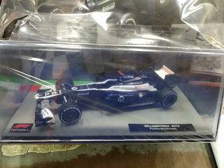 maqueta 1:43 Williams fm34 Maldonado nuevo