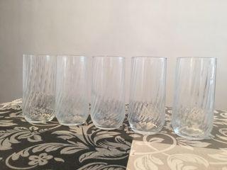 Juego de 5 vasos