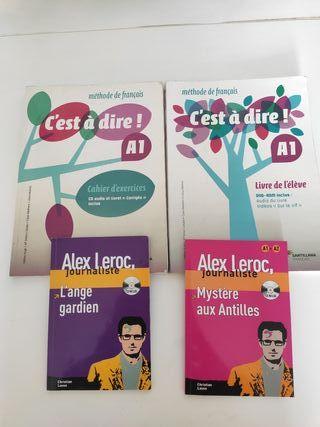 libros escuela de francés c'est a dire