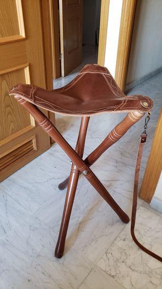 silla plegable, caza, pesca
