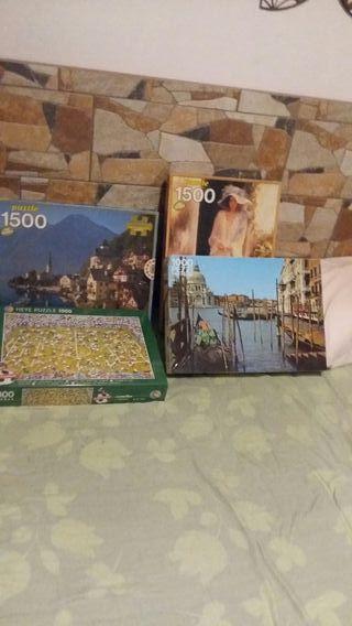 puzzles muy antiguos sin usar
