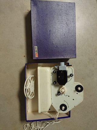 proyector de juguete cine marca JEFE 8 milimetros