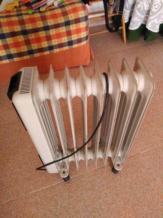 Radiador estufa calefactor aceite electrica