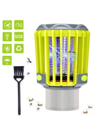 Lámpara antimosquitos recargable con luz