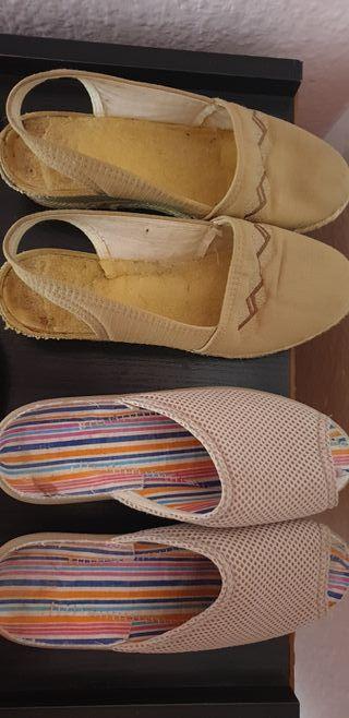 lote sandalias mujer