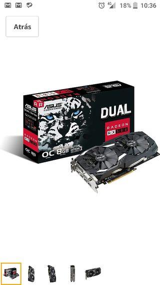 AMD Radeon Rx 580 oc 8gb ddr5 asus