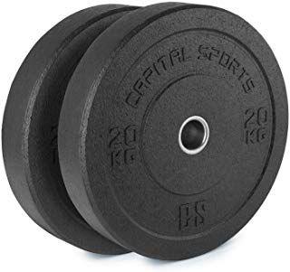 Discos de Pesas de Caucho Rekord para gym 100kg