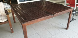 Mesa de jardín y sillones APPLARO Ikea