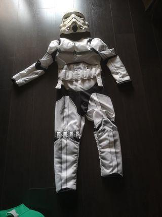 Disfraz talla 7/8 niño star wars
