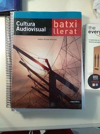 libro Cultura Audiovisual en catalán.