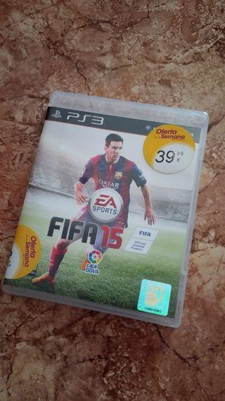 Juego PS3 Fifa 15