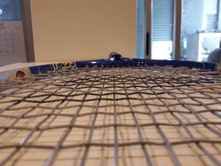Raqueta de tenis marca decathlon