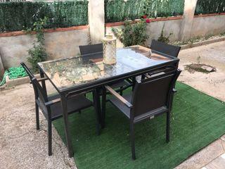 Mesa Jardin + sillas