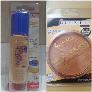 NUEVO Base maquillaje+Polvos RIMMEL LONDON