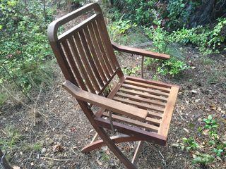 2 sillas de jardín (precio por silla)