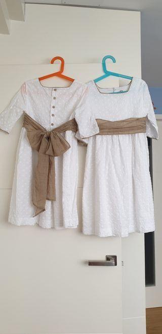 Vestidos ceremonia niña de First tallas 10 y 12