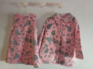 conjunto vestido+chaqueta