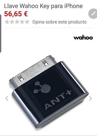 wahoo ant+ conexión ipad bkool
