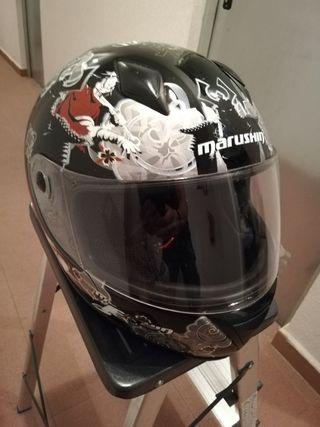 casco moto Marushin