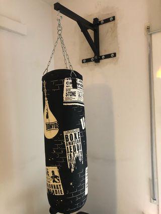 Saco de boxeo + soporte