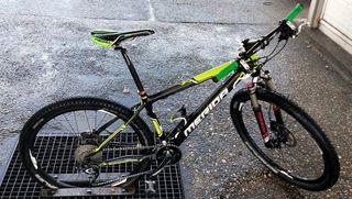 Bicicleta de montaña talla S