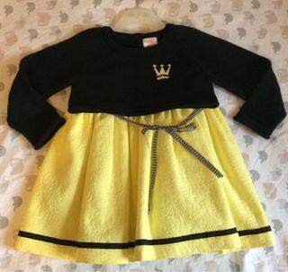 Eva Castro vestido y jersey T 5 años.