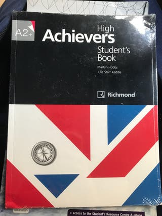 Libro de inglés High Achievers Student's book