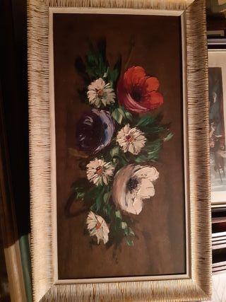 cuadro de flores.
