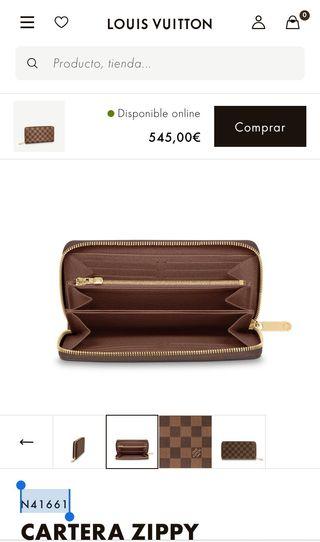 Cartera Zippy Louis Vuitton