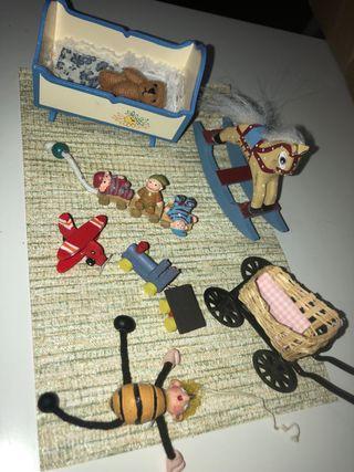 Casa de muñecas accesorios