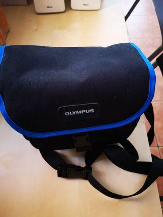 cámara de fotos olympus is-5 deluxe