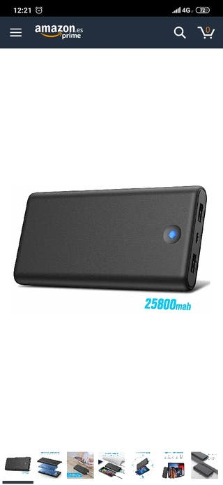 Power Bank 25800mAh Nueva