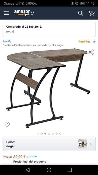 escritorio y silla gaming oferta