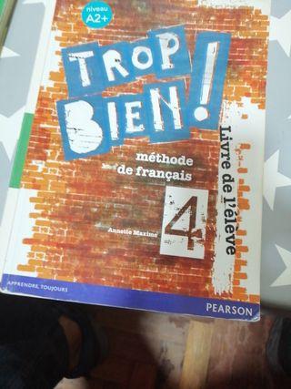 libro de francés 4 de ESO