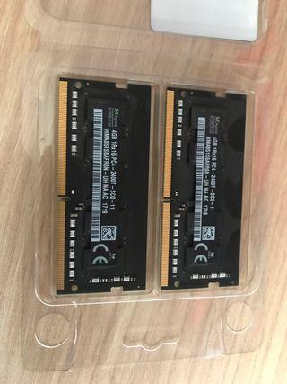 Memoria RAM 8GB (2 X 4GB) DDR4
