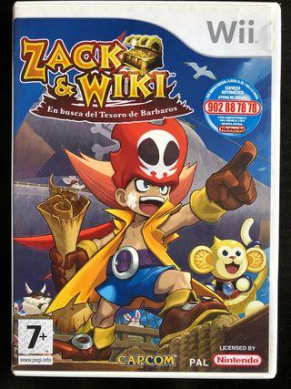 Zack & Wiki Wii